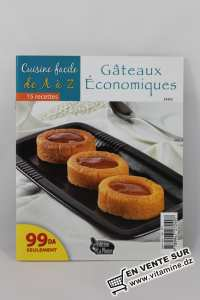 Cuisine facile de A à Z - gâteaux économiques