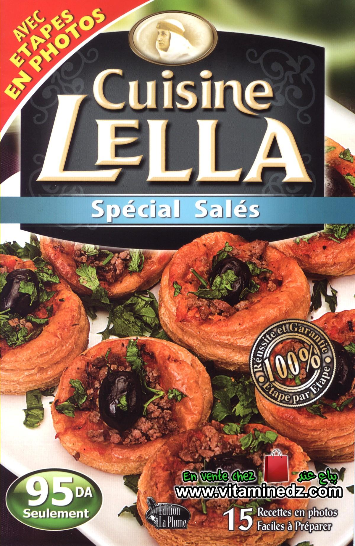 Cuisine Lella - Spécial salés