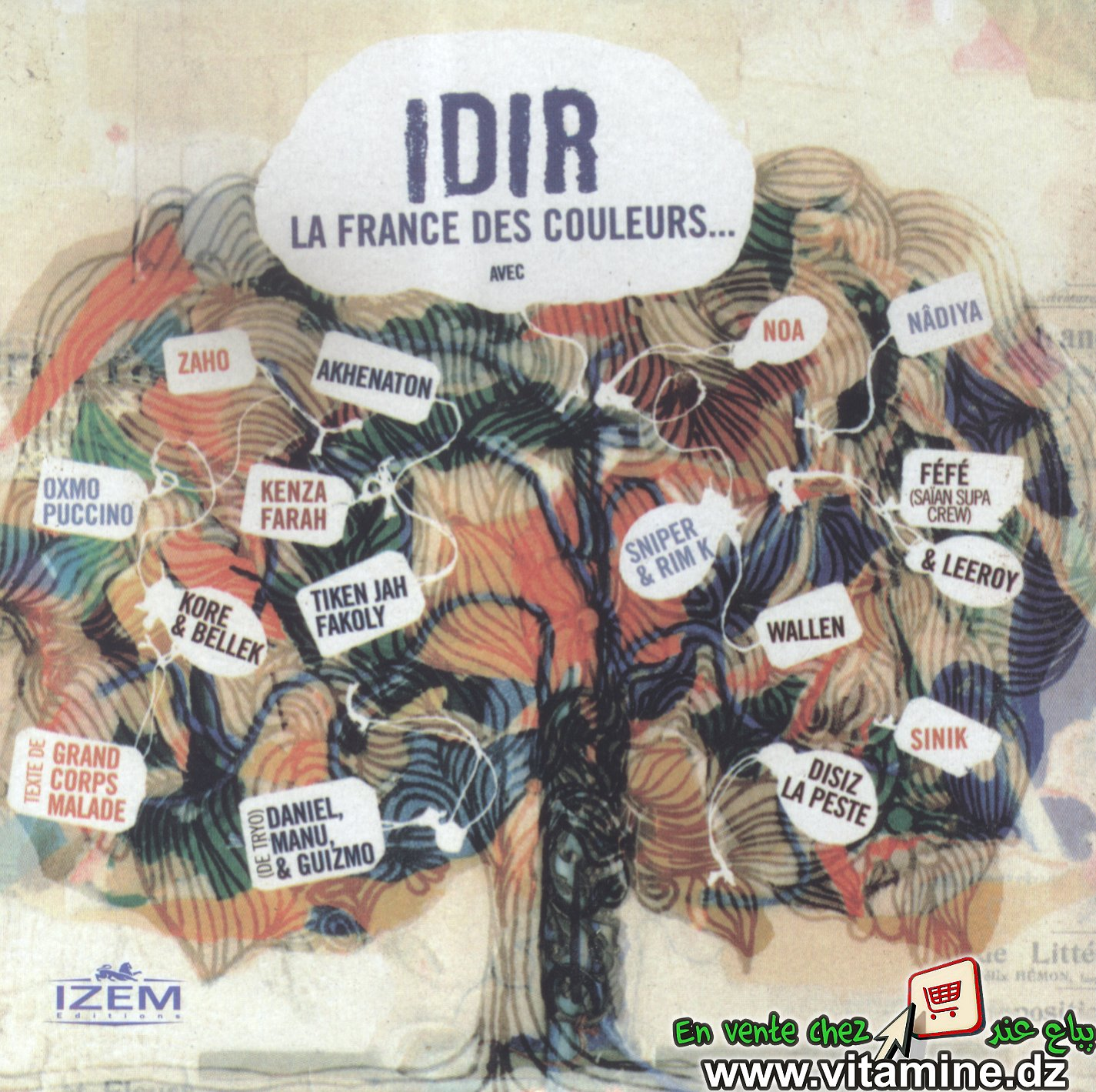 Idir - la France des couleurs