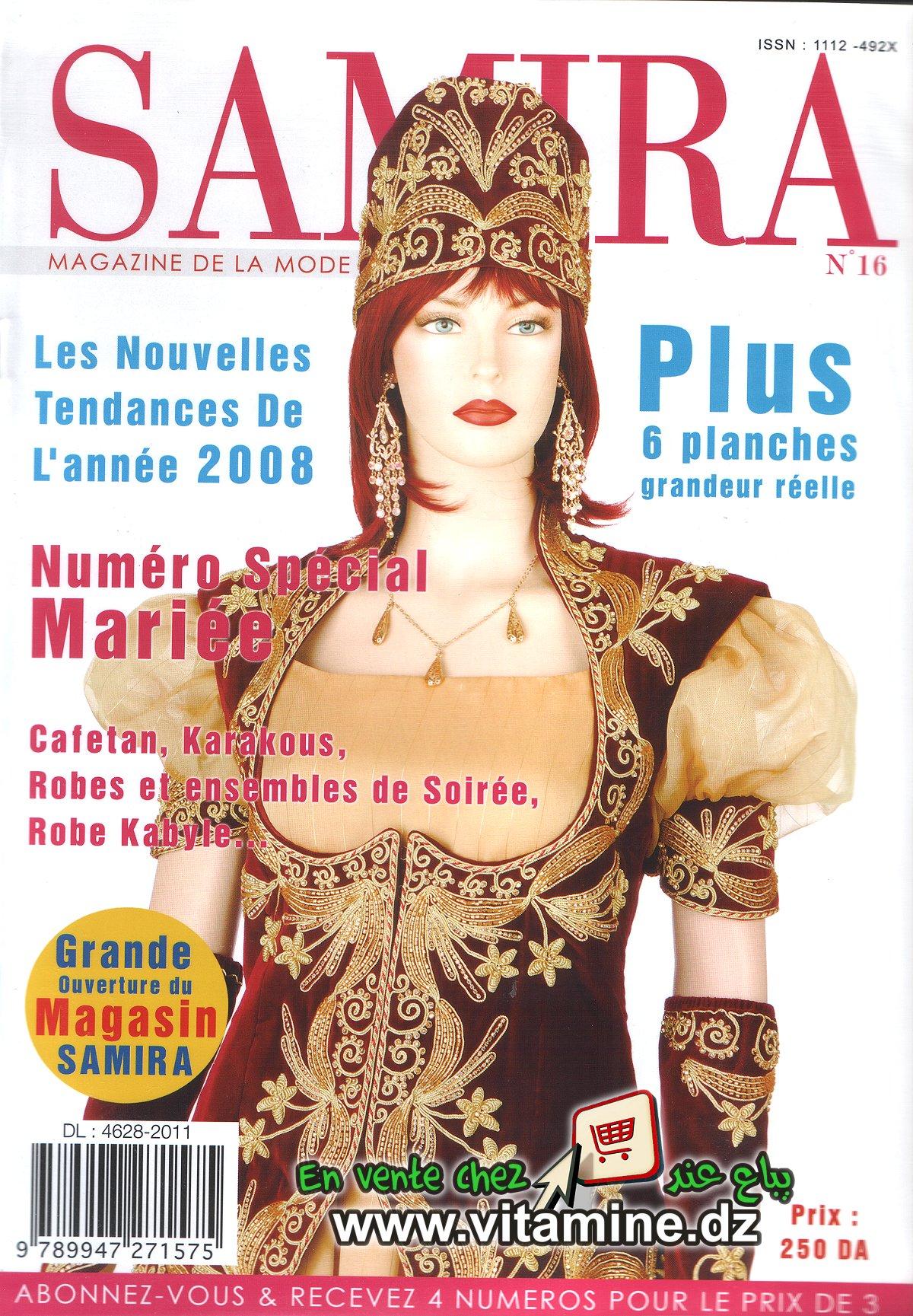 Samira N°16 - Magazine de Mode