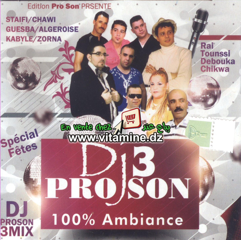 DJ Pro Son 3 - 100% ambiance