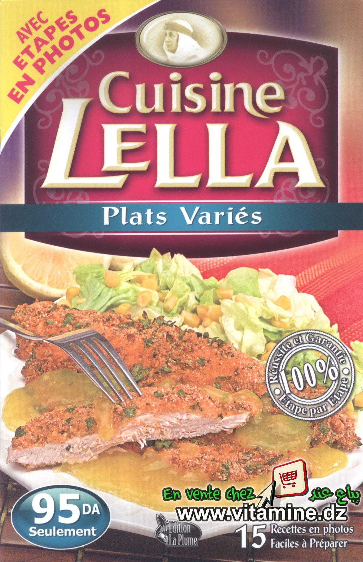 Cuisine Lella - Plats variés