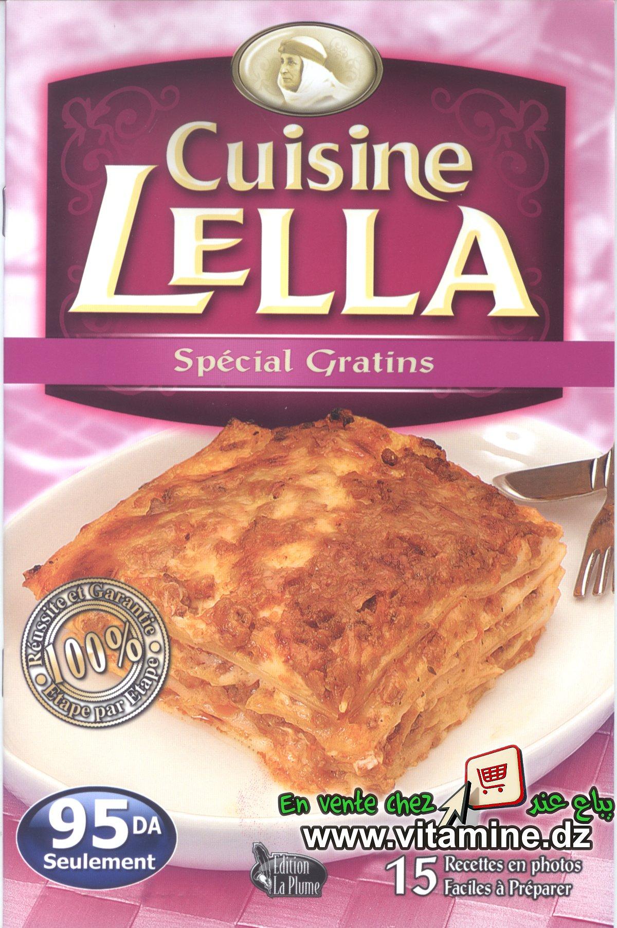 Cuisine Lella - Spécial gratins