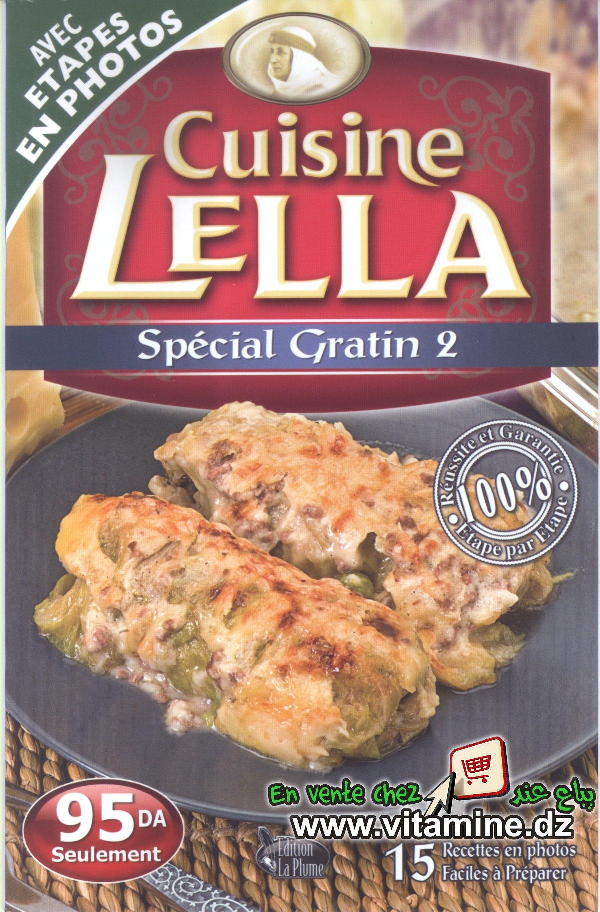 les livres de cuisine lella