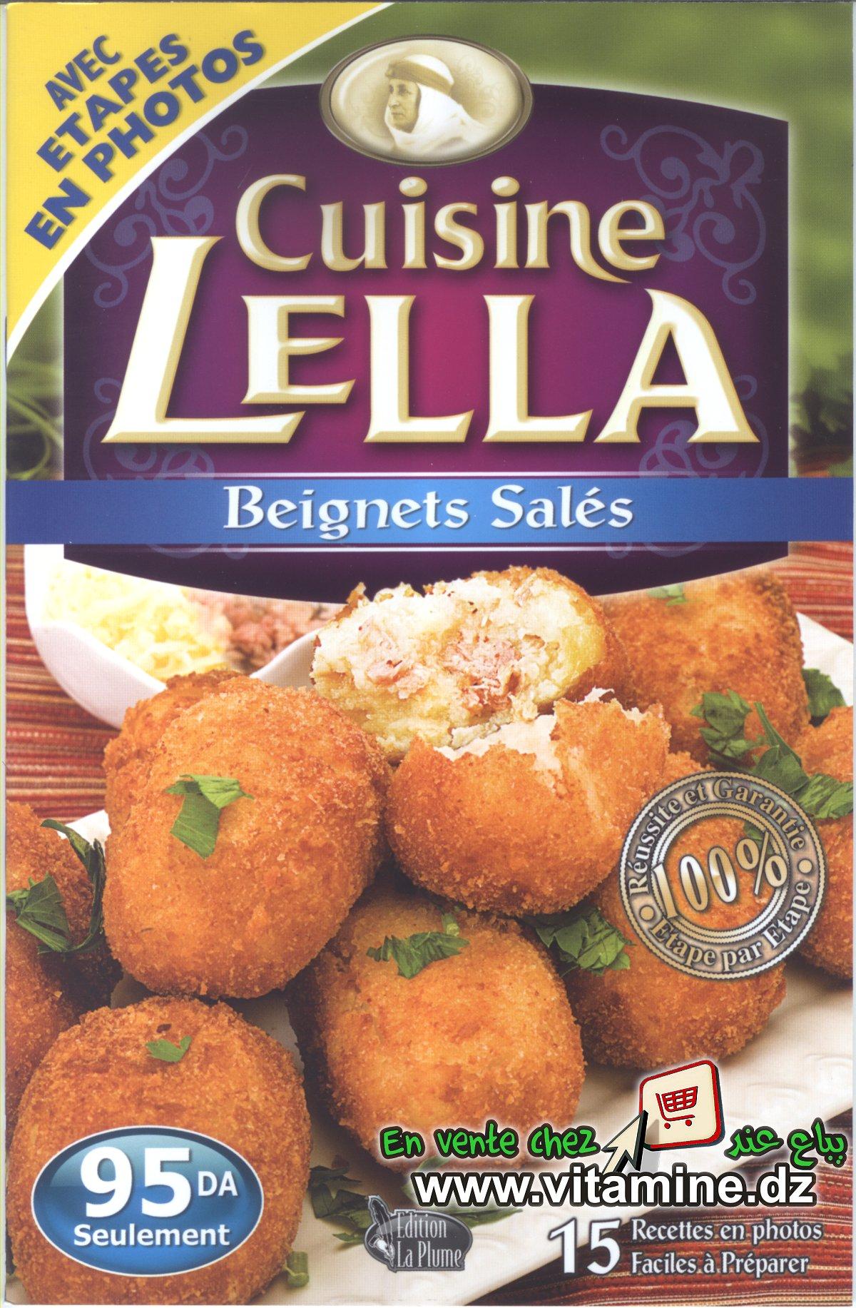 Cuisine Lella - Beignets salés
