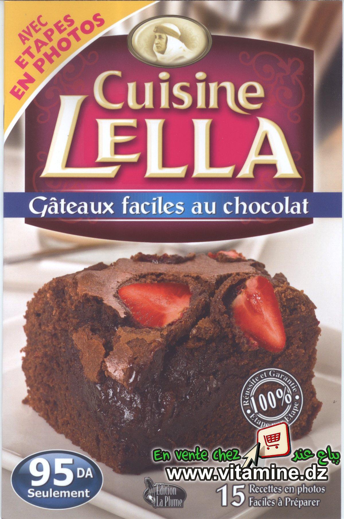 Cuisine Lella - Gâteaux faciles au chocolat