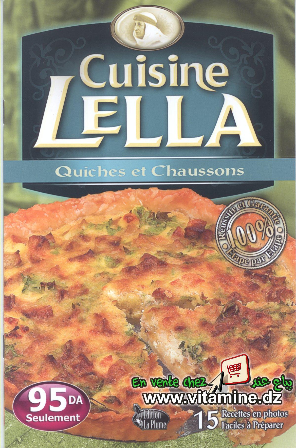Cuisine Lella - Quiches et chaussons