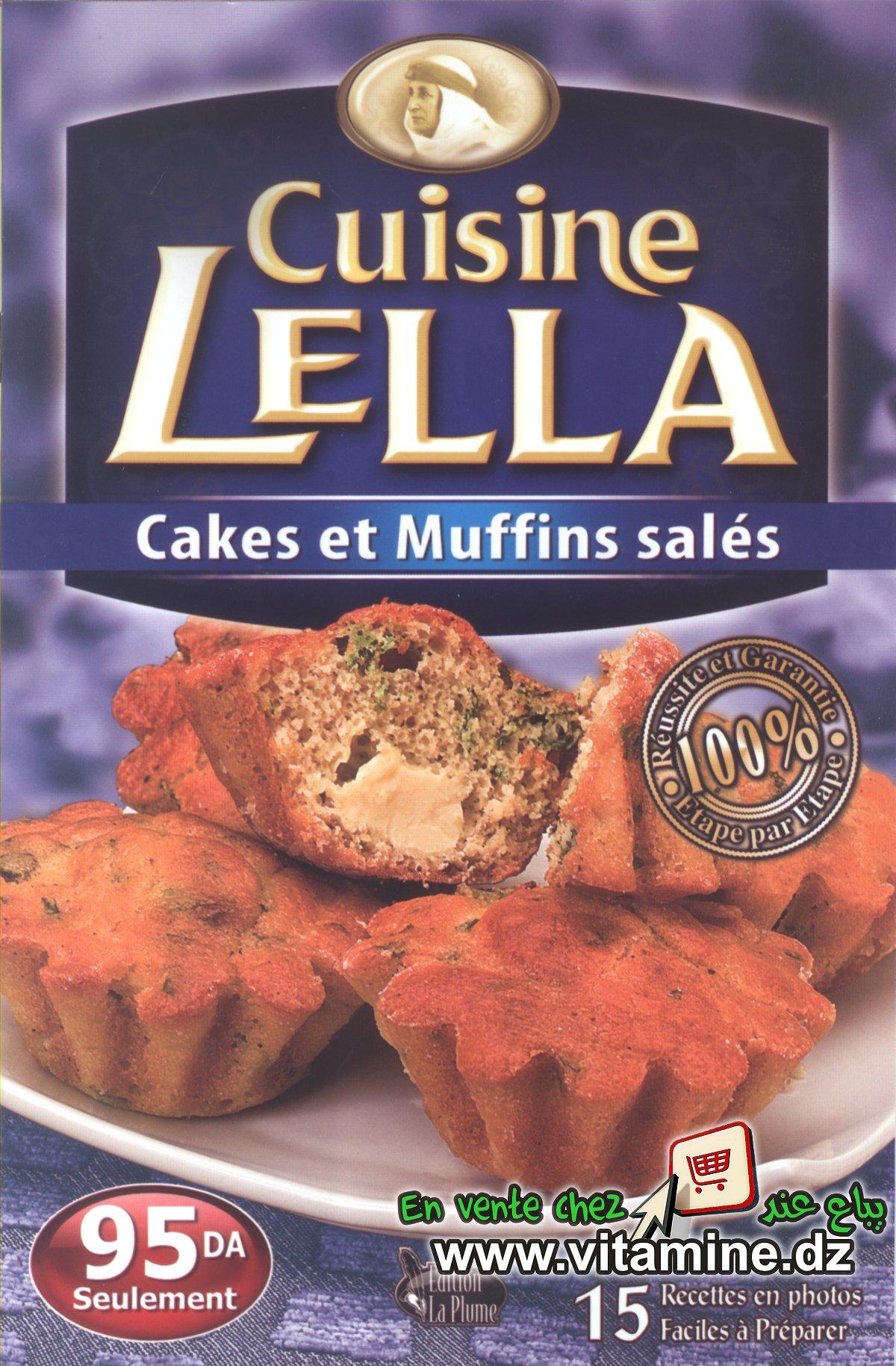 Cuisine Lella - Cakes et muffins salés