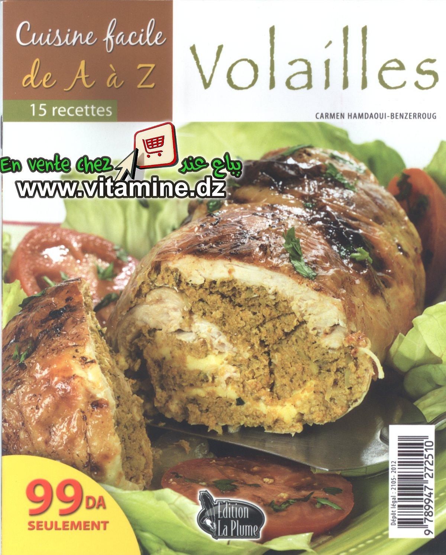Cuisine facile de A à Z - volailles