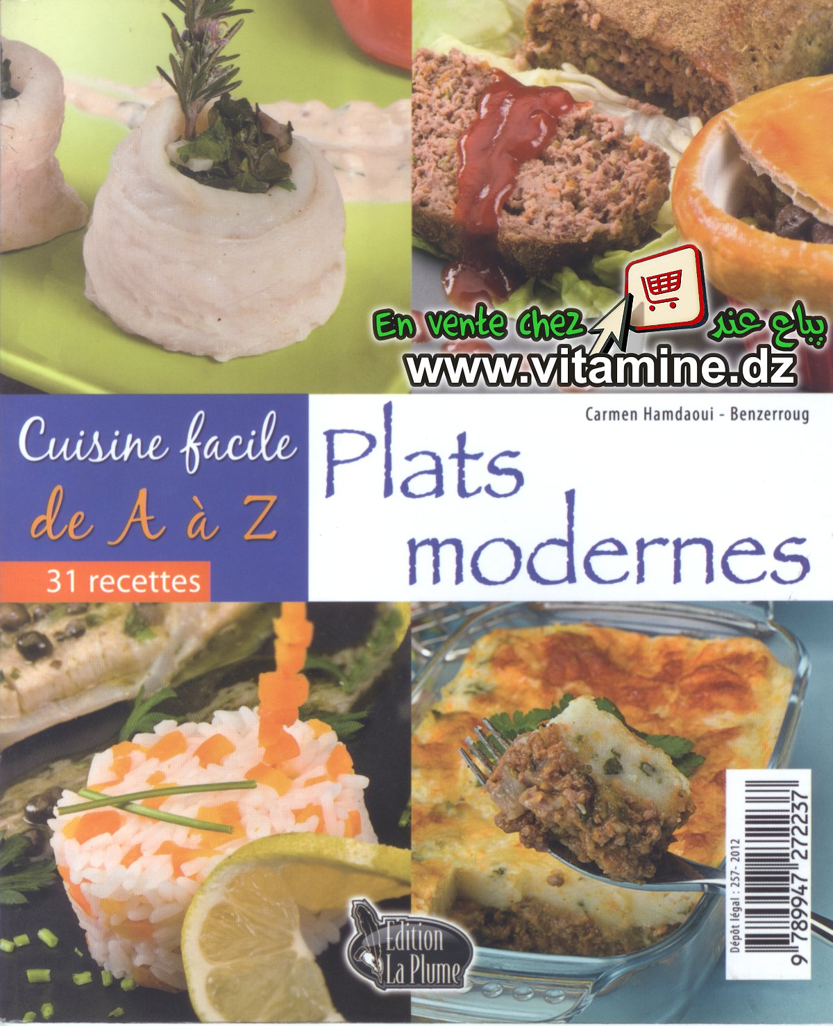 Cuisine facile de a z plats modernes livres cuisine - Livre de cuisine facile ...