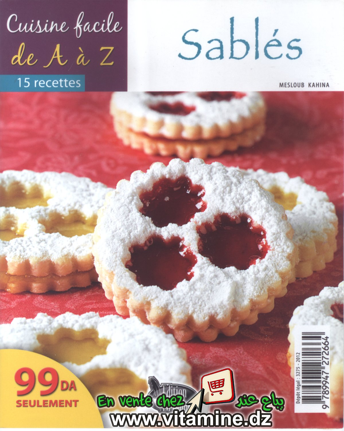 Cuisine facile de A à Z - Sablés