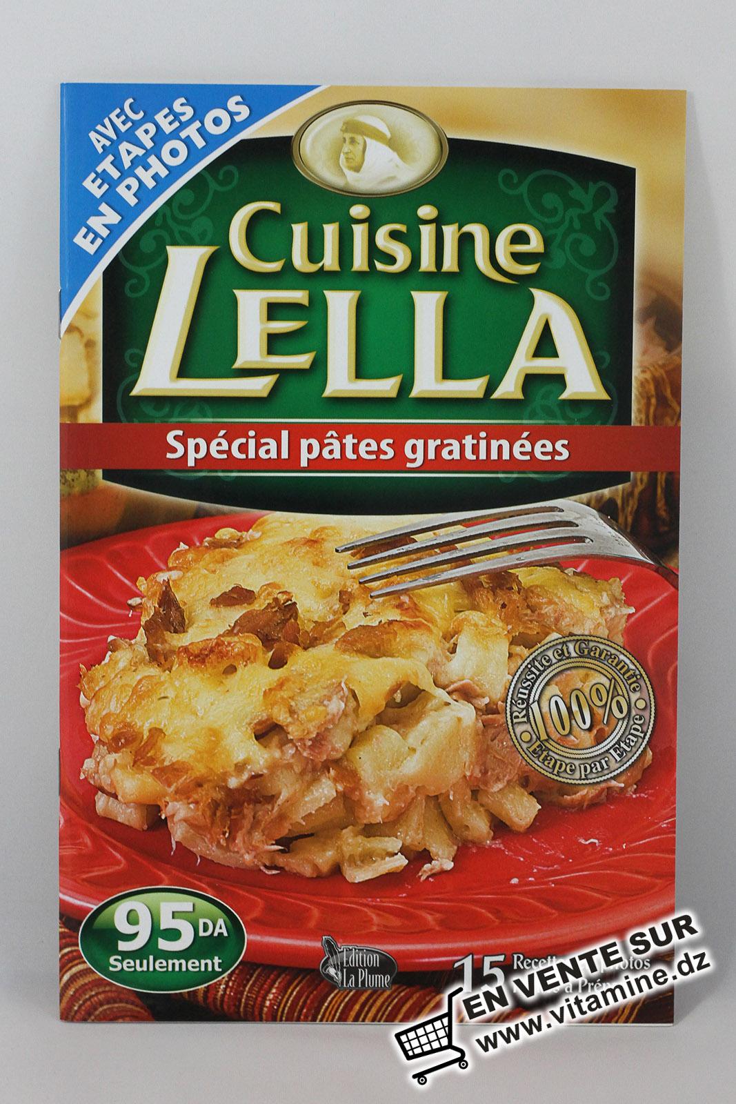 Cuisine Lella - Spécial pâtes gratinées