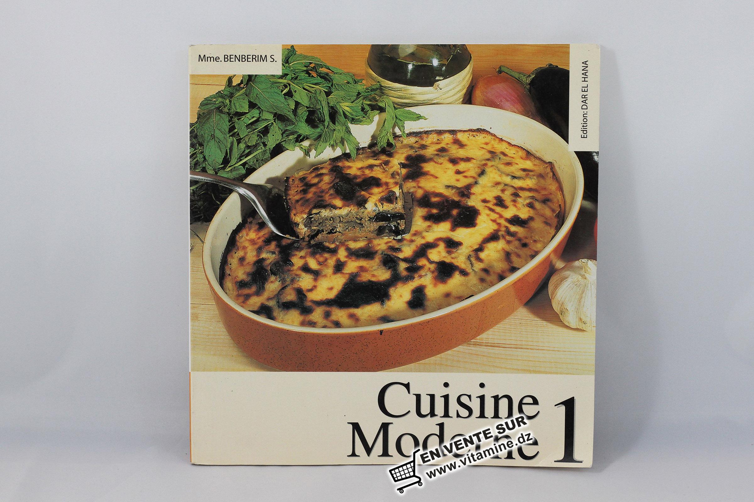 BENBERIM Saida - Cuisine Moderne 1