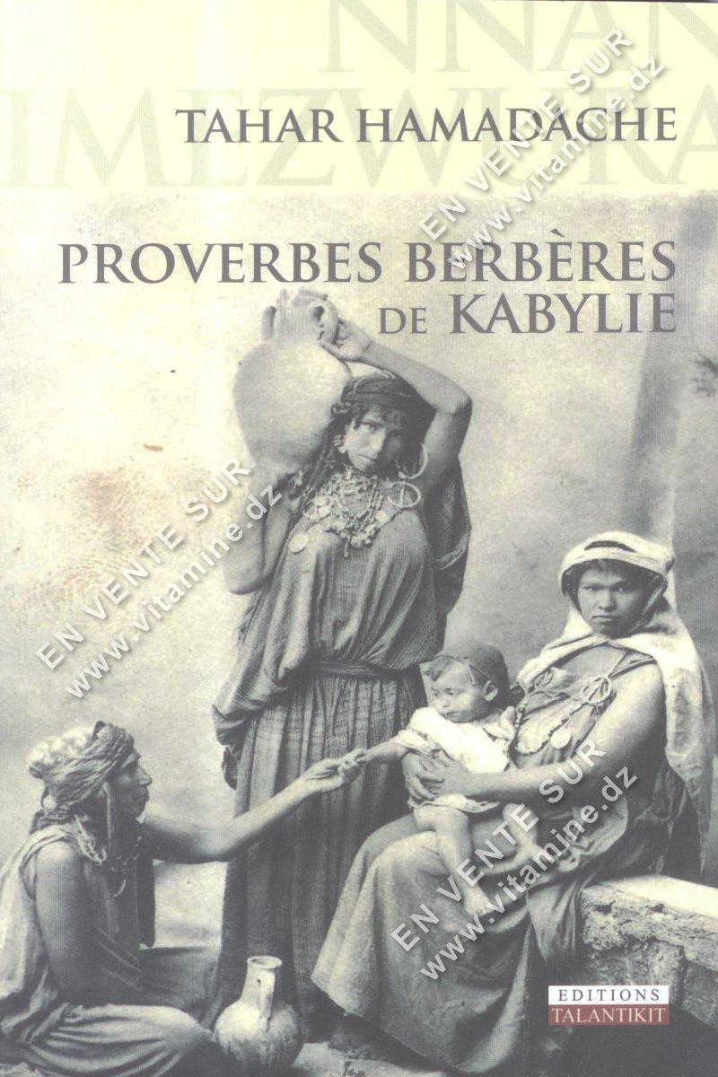 Tahar Hamadache - Proverbe Berbères de KABYLIE