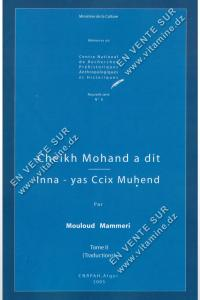 Mouloud Mammeri – Cheikh Mohand a dit