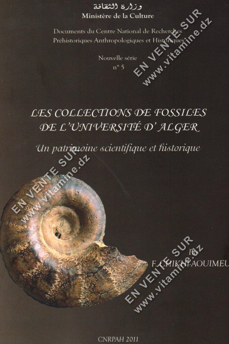 F.Chikhi-Aouimer - Les collections de fossiles de l'Université d'Alger