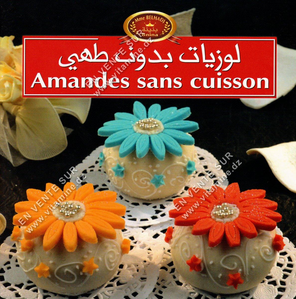 Bnina - Amandes sans cuisson