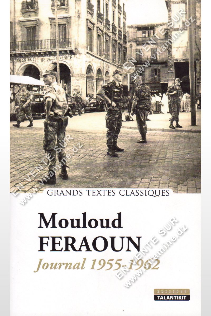Mouloud Feraoun - Journal 1955-1962