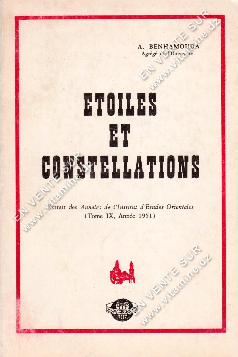 A.Benhamouda - Etoiles et Constellations