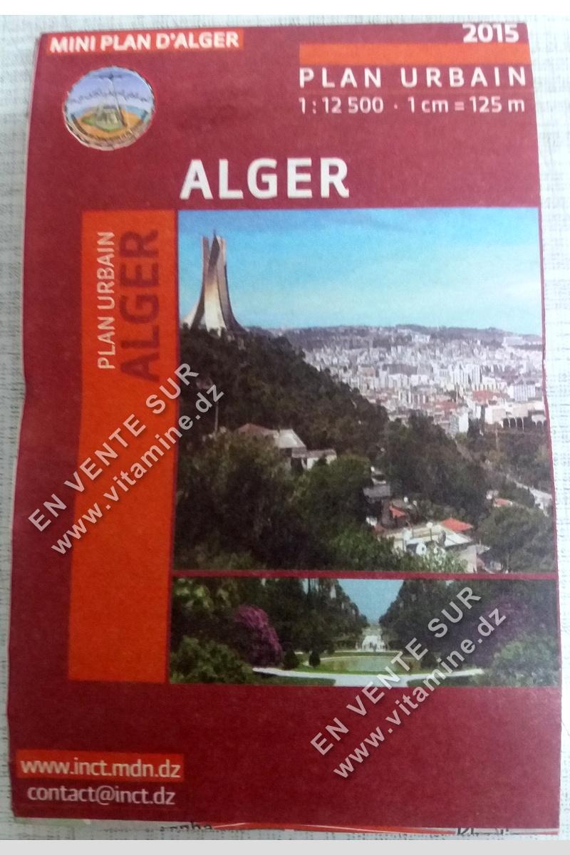 Mini Plan d'Alger (Plan Urbain)