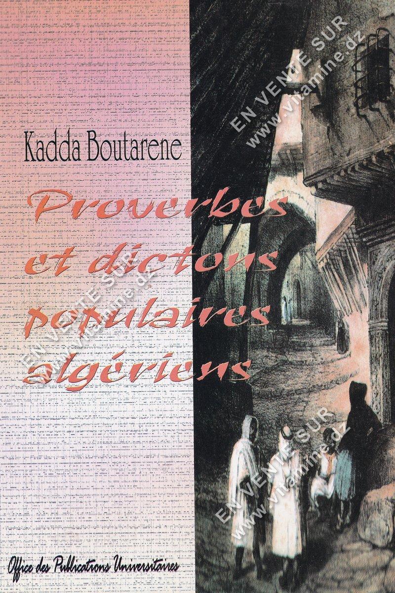 Kadda Boutarene - Proverbes et dictons populaires algériens