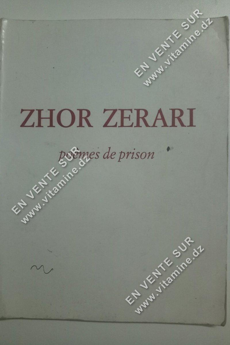 Zhor Zerari - Poèmes de prison